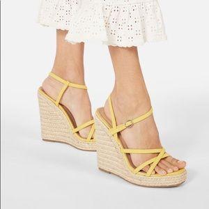 JustFab How Posh Strappy Wedge Sandal